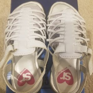 Stride Rite Shoes - stride rite girls white sandals size 9 -new in box